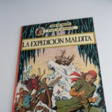 Cómics: CORI EL GRUMETE LA EXPEDICION MALDITA - BOB MOOR - JUVENTUD 1989 - PRIMERA EDICION -EXCELENTE ESTADO. Lote 128365479