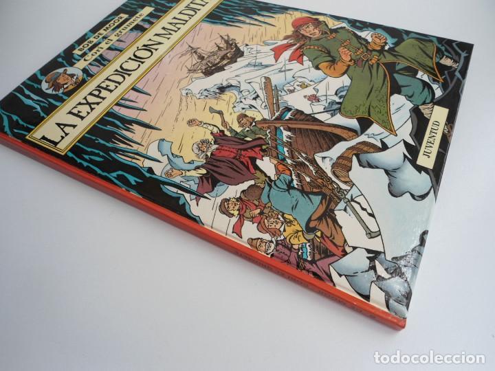 Cómics: CORI EL GRUMETE LA EXPEDICION MALDITA - BOB MOOR - JUVENTUD 1989 - PRIMERA EDICION -EXCELENTE ESTADO - Foto 2 - 128365479