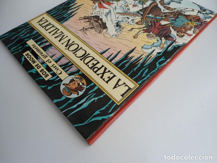 Cómics: CORI EL GRUMETE LA EXPEDICION MALDITA - BOB MOOR - JUVENTUD 1989 - PRIMERA EDICION -EXCELENTE ESTADO - Foto 3 - 128365479