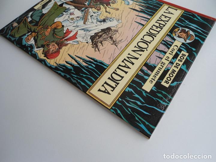 Cómics: CORI EL GRUMETE LA EXPEDICION MALDITA - BOB MOOR - JUVENTUD 1989 - PRIMERA EDICION -EXCELENTE ESTADO - Foto 4 - 128365479