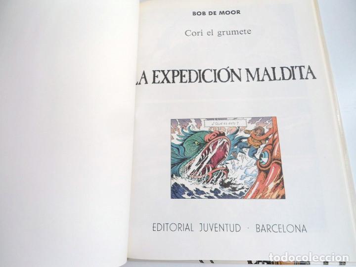 Cómics: CORI EL GRUMETE LA EXPEDICION MALDITA - BOB MOOR - JUVENTUD 1989 - PRIMERA EDICION -EXCELENTE ESTADO - Foto 6 - 128365479