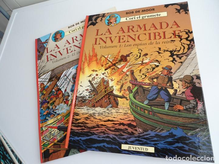 CORI EL GRUMETE LA ARMADA INVENCIBLE - BOB MOOR - JUVENTUD 1991 - PRIMERA EDICION - EXCELENTE ESTADO (Tebeos y Comics - Juventud - Cori el Grumete)