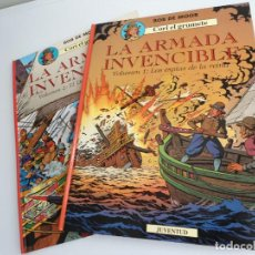 Cómics: CORI EL GRUMETE LA ARMADA INVENCIBLE - BOB MOOR - JUVENTUD 1991 - PRIMERA EDICION - EXCELENTE ESTADO. Lote 128367119