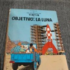 Cómics: TIN TIN - OBJETIVO : LA LUNA - JUVENTUD - HERGE - 9 EDICION - 1983 - TINTIN. Lote 128398487