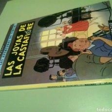 Cómics: TINTIN LAS JOYAS DE LA CASTAFIORE JUVENTUD. Lote 128628300