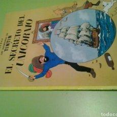 Cómics: EL SECRETO DEL UNICORNIO TINTIN TAPA BLANDA HERGE. Lote 128628866