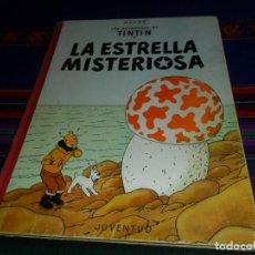 Cómics: TINTIN LA ESTRELLA MISTERIOSA 2ª SEGUNDA EDICIÓN 1964. JUVENTUD. MUY BUEN ESTADO.. Lote 128862399