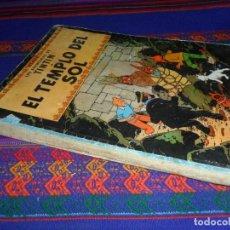Cómics: TINTIN EL TEMPLO DEL SOL PRIMERA 1ª EDICIÓN 1961. EDITORIAL JUVENTUD. DIFÍCIL.. Lote 129232347