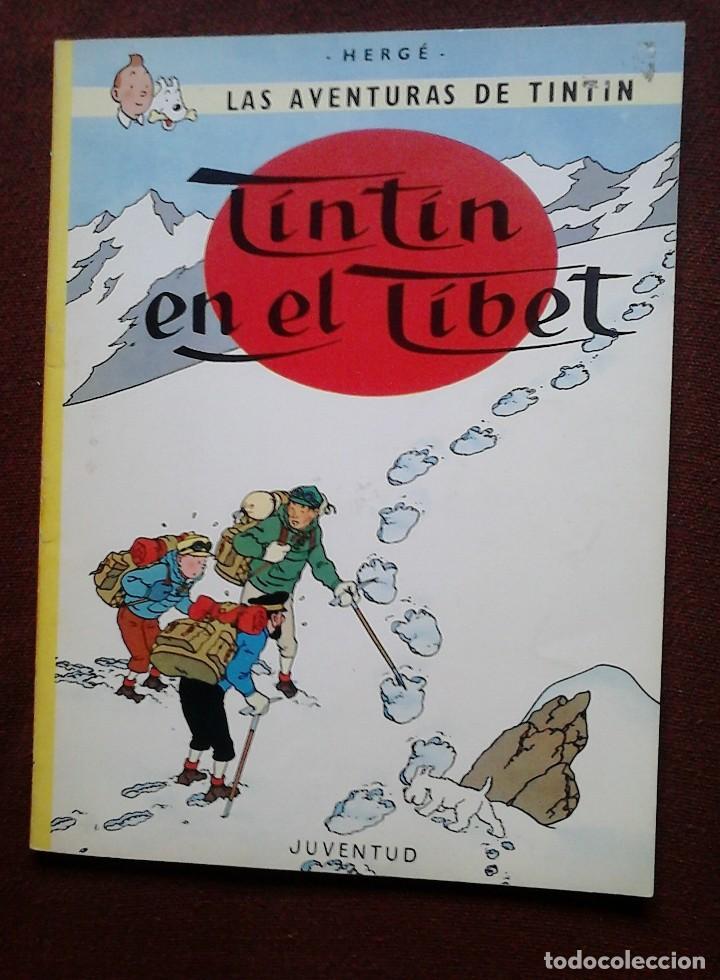 TINTÍN EN EL TÍBET (JUVENTUD, 1980) HERGÉ (Tebeos y Comics - Juventud - Tintín)