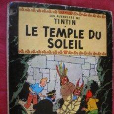 Comics : LES AVENTURES DE TINTIN. LE TEMPLE DU SOLEIL. HERGÉ. CASTERMAN 1949. FRANCÉS.. Lote 129300843