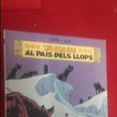 Cómics: YAKARI 8 - AL PAIS DELS LLOPS - DERIB & JAVOB - ED. JUVENTUD - CARTONE - EN CATALAN. Lote 129408471