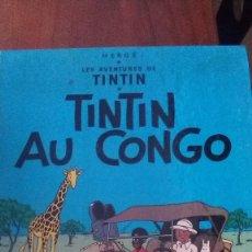Cómics: TINTIN AU CONGO LES AVENTURES DE TINTIN. EDITORIAL CASTERMAN. HERGE. Lote 130047883
