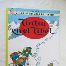 Cómics: TINTIN EN EL TIBET - HERGÉ EDITORIAL JUVENTUD 2012. Lote 130357134