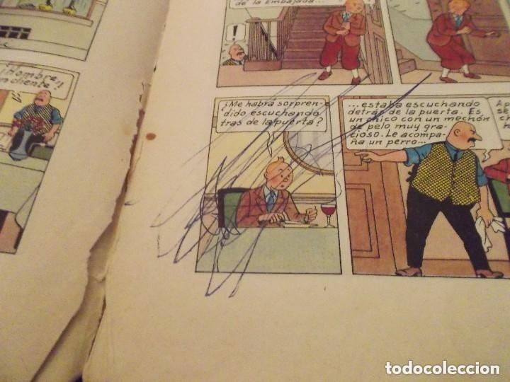 Cómics: HERGE - TINTIN - EL CETRO DE OTTOKAR - ED. JUVENTUD 1972, 5ª 5 QUINTA EDICION - VER DESCRIPCION - Foto 5 - 130359930