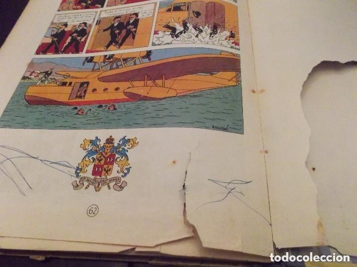 Cómics: HERGE - TINTIN - EL CETRO DE OTTOKAR - ED. JUVENTUD 1972, 5ª 5 QUINTA EDICION - VER DESCRIPCION - Foto 8 - 130359930