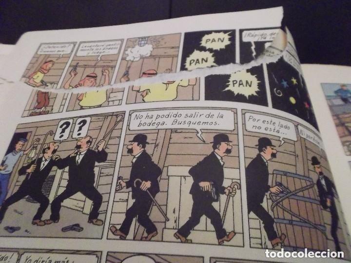 Cómics: HERGE - TINTIN - LOS CIGARROS DEL FARAON - ED. JUVENTUD 1972, 4 4ª EDICION - VER DESCRIPCION - Foto 3 - 130360394