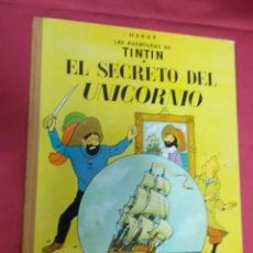 Cómics: TINTÍN. EL SECRETO DEL UNICORNIO . JUVENTUD . 1965 . 3ª EDICION. Lote 130492622