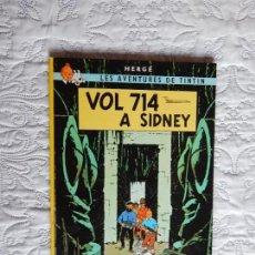 Cómics: LES AVENTURES DE TINTIN - VOL 714 A SIDNEY -CATALA. Lote 130700914