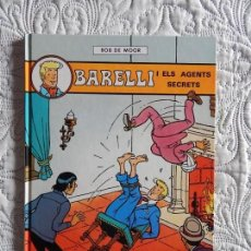 Cómics: BARELLI I ELS AGENTS SECRETS - N. 5 - CATALA. Lote 130785920