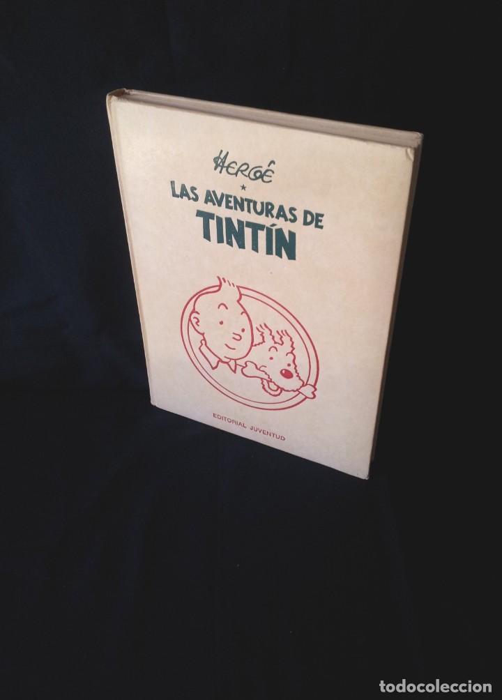 HERGE, LAS AVENTURAS DE TINTIN Nº 4 - EDITORIAL JUVENTUD (Tebeos y Comics - Juventud - Tintín)