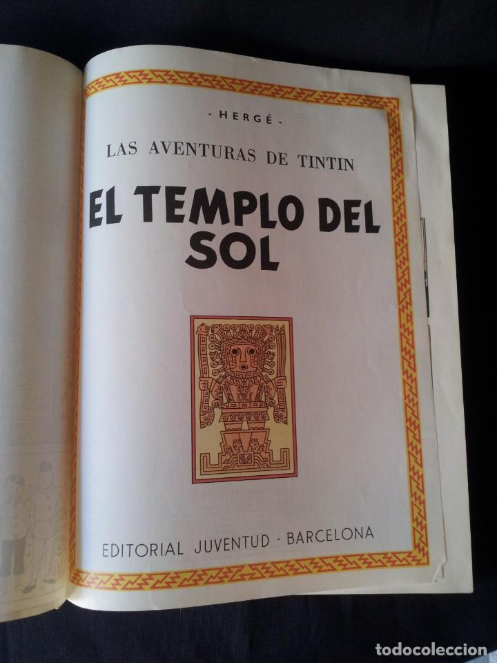 Cómics: HERGE, LAS AVENTURAS DE TINTIN Nº 4 - EDITORIAL JUVENTUD - Foto 4 - 130820520