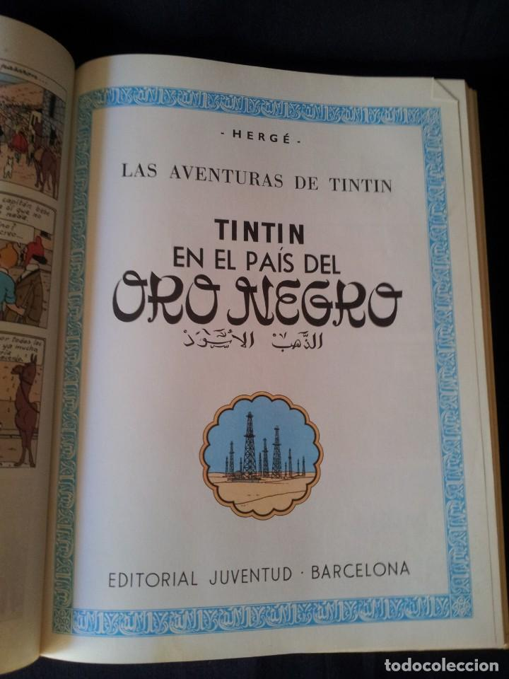 Cómics: HERGE, LAS AVENTURAS DE TINTIN Nº 4 - EDITORIAL JUVENTUD - Foto 6 - 130820520