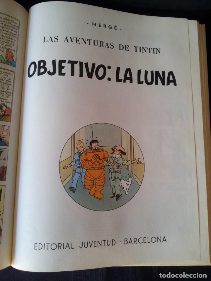 Cómics: HERGE, LAS AVENTURAS DE TINTIN Nº 4 - EDITORIAL JUVENTUD - Foto 8 - 130820520