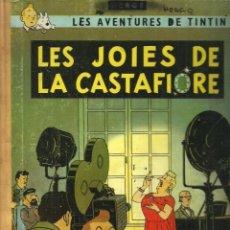 Cómics: TINTIN. LES JOIES DE LA CASTAFIORE - EDITORIAL JUVENTUD - PRIMERA EDICIÓN CATALÁN - 1965. Lote 130933184