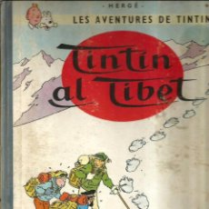 Cómics: TINTIN AL TIBET ( HERGE, LES AVENTURES DE TINTIN) PRIMERA EDICIO, 1965). Lote 130941236