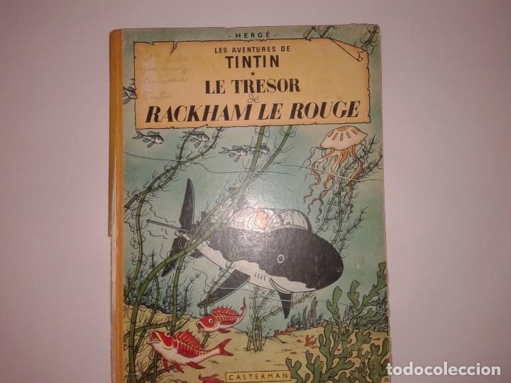 TINTIN LE TRESOR RACKHAM LE ROUGE, 1947 (Tebeos y Comics - Juventud - Tintín)