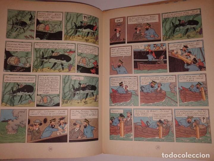 Cómics: TINTIN LE TRESOR RACKHAM LE ROUGE, 1947 - Foto 2 - 130948256