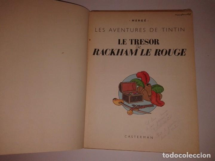 Cómics: TINTIN LE TRESOR RACKHAM LE ROUGE, 1947 - Foto 4 - 130948256