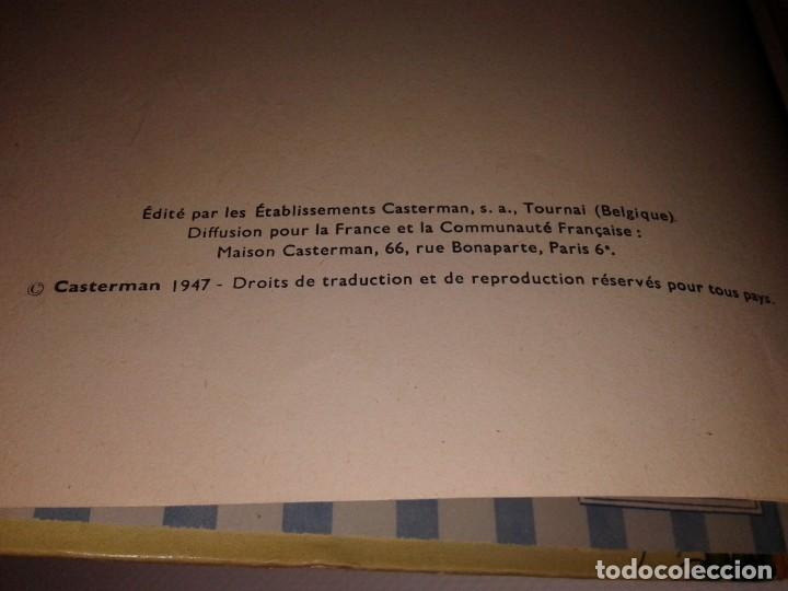Cómics: TINTIN LE TRESOR RACKHAM LE ROUGE, 1947 - Foto 5 - 130948256