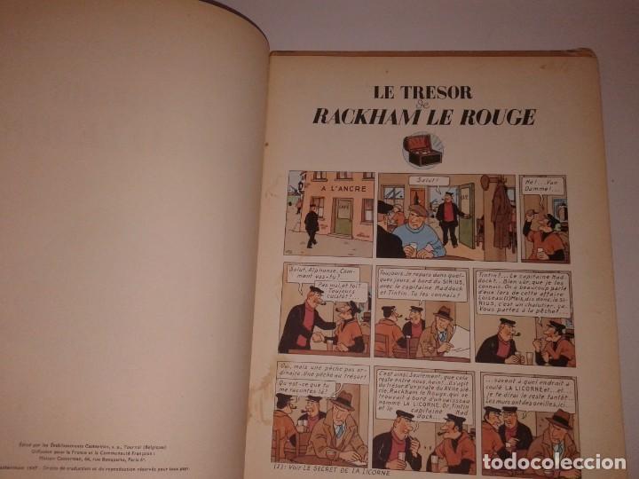 Cómics: TINTIN LE TRESOR RACKHAM LE ROUGE, 1947 - Foto 6 - 130948256