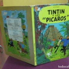 Cómics: HERGE. TINTIN Y LOS PICAROS. JUVENTUD 1ª EDICION DICIEMBRE 1976.. Lote 130965668