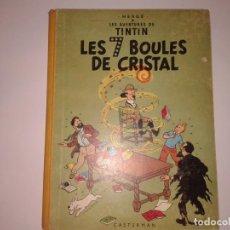 Cómics: LES 7 BOULES DE CRISTAL 1948, EN FRANCES. Lote 130967248