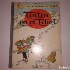 Cómics: TINTIN EN EL TIBET, 1967 3ª EDICION. Lote 130967520