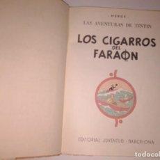 Cómics: TINTIN LOS CIGARROS DEL FARAON, 1965, 2ª EDICION. Lote 130967712