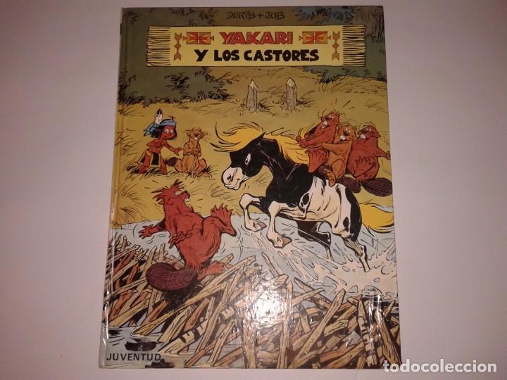 YAKARI Y LOS CASTORES, 1980, 1ª EDICION (Tebeos y Comics - Juventud - Yakary)