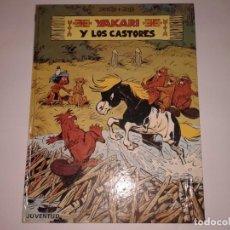 Cómics: YAKARI Y LOS CASTORES, 1980, 1ª EDICION. Lote 130968060