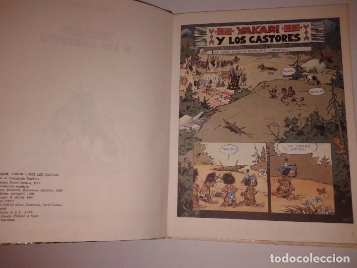 Cómics: YAKARI Y LOS CASTORES, 1980, 1ª EDICION - Foto 2 - 130968060