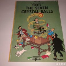 Cómics: THE ADVENTURES OF TINTIN THE SEVEN CRYSTAL BALLS. Lote 130968808