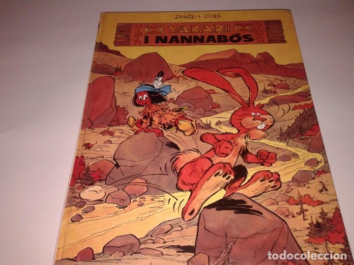 YAKARI I NANNABOS, EN CATALA (Tebeos y Comics - Juventud - Yakary)