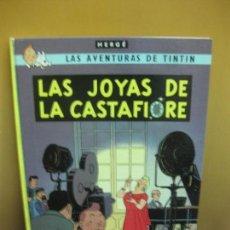 Cómics: HERGE. LAS AVENTURAS DE TINTIN. LAS JOYAS DE LA CASTAFIORE. EDITORIAL JUVENTUD QUINTA EDICION 1978.. Lote 130973848