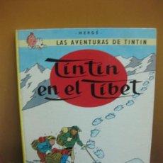 Cómics: HERGE. LAS AVENTURAS DE TINTIN.TINTIN EN EL TIBET. EDITORIAL JUVENTUD. SEXTA EDICION 1979.. Lote 130974168