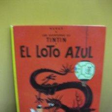 Cómics: HERGE. LAS AVENTURAS DE TINTIN. EL LOTO AZUL. EDITORIAL JUVENTUD. SEXTA EDICION 1979.. Lote 130974240
