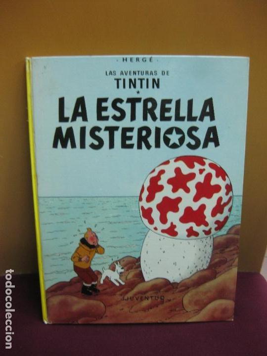 HERGE. LAS AVENTURAS DE TINTIN. LA ESTRELLA MISTERIOSA. EDITORIAL JUVENTUD. 2003. (Tebeos y Comics - Juventud - Tintín)