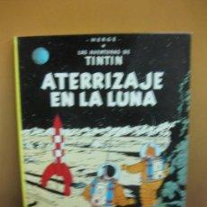 Cómics: HERGE. LAS AVENTURAS DE TINTIN. ATERRIZAJE EN LA LUNA. EDITORIAL JUVENTUD. SEPTIMA EDICION 1979.. Lote 130976856