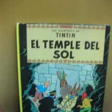 Cómics: HERGE. LES AVENTURES DE TINTIN. EL TEMPLE DEL SOL. EDITORIAL JUVENTUD. 3ª ED. 1978. Lote 130977184