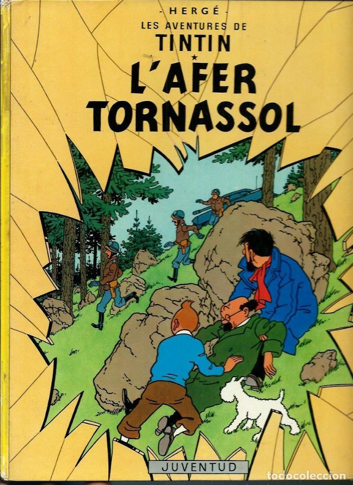 HERGE - LES AVENTURES DE TINTIN - L' AFER TORNASSOL - ED JUVENTUD 1983 5ª EDICIO - BASTANT BE (Tebeos y Comics - Juventud - Tintín)